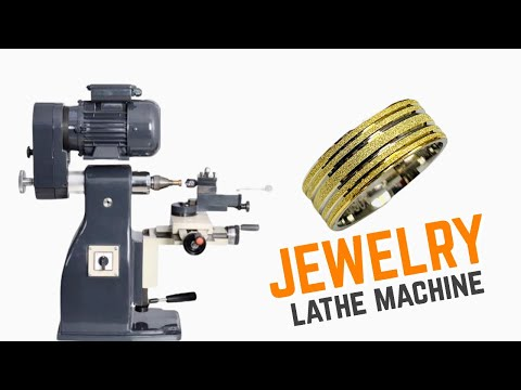 Jewelry Lathe Machine For Ring Production (#BulunmazMechanical)