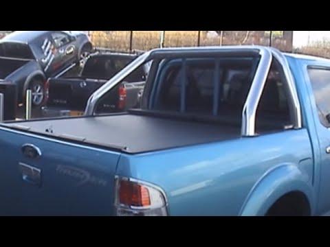 Ford Ranger Stainless Steel Bull Bar Roll Amp Lock Fitted