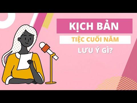 Những lưu ý khi làm kịch bản MC tiệc cuối năm công ty Year End Party