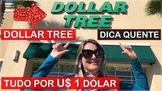 TOUR DOLLAR TREE em Orlando EUA! COMPRE tudo por U$ 1 DÓLAR!