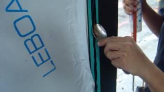 金永貿  和紙膠帶應用 矽力康填縫