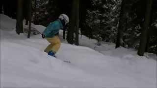 Hannah and Sophie ski. 2013 Thumbnail