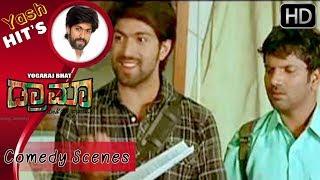 Yash's super kannada dialogues | Drama Kannada Movie | Kannada Comedy Scenes | Radhika Pandith