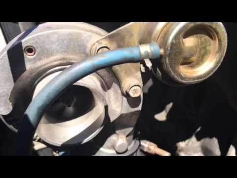 15g turbo spin startup and down time - YouTube