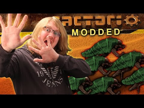 Modded Factorio - THE FIRST DEATH