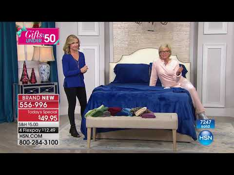 HSN | Soft & Cozy Gifts Under $50 11.13.2017 - 01 AM