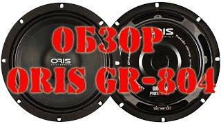 Обзор автомобильных динамиков Oris ProDrive GR 804 автозвук своими руками
