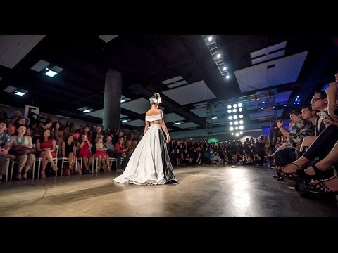 Kini and Dinko Fashion Show at HONOLULU Fashion Week, Nov. 7, 2014