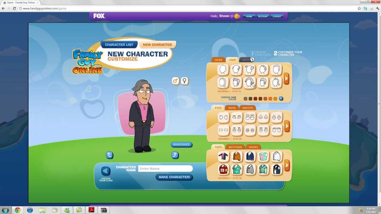 Family Guy Online Game