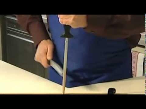 limare coltelli  Come affilare i coltelli - YouTube