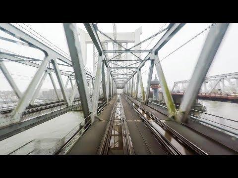 4K Cab Ride NL Den Haag HS - Delft - Rotterdam CS - Dordrecht / SPR 5057 / 15-11-2017