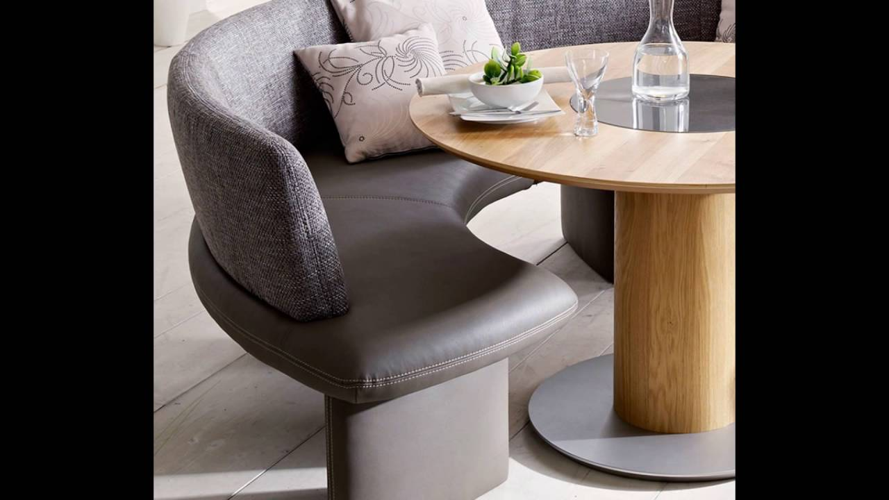 Curved Dining Bench Youtube