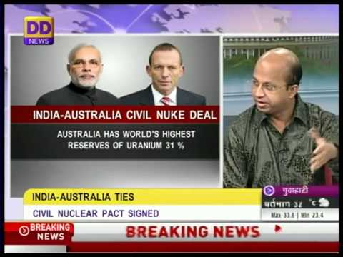 Special discussion on India-Australia nuclear deal