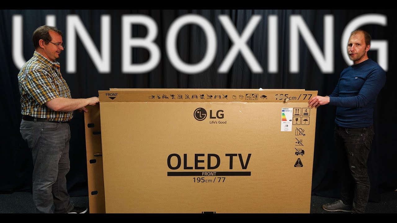 Unboxing: LG 8K OLED Z1