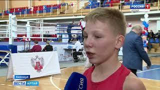 В Барнауле проходит турнир по боксу памяти Олега Долгова
