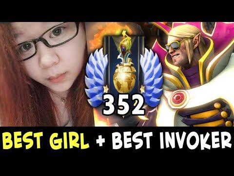 Best GIRL in Dota + best Invoker — Sumiya and Axx making pro team?