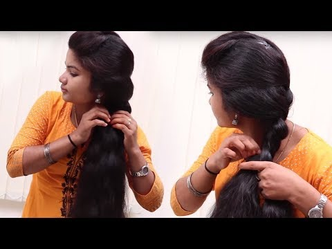 Simple hairstyles in last Minutes for College/School || Everyday Hairstyles 2018 | Long Hairstyles