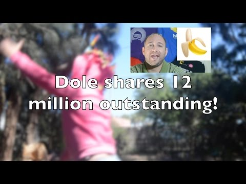 Dole's 12 million outstanding shares: What blockchain could have done