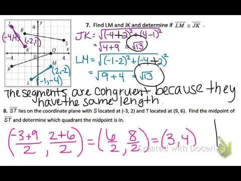 Geometry Module 1 Review