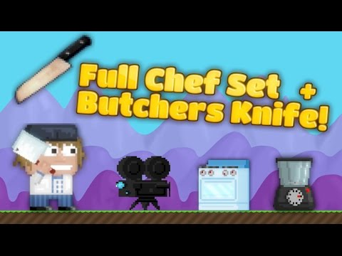 Growtopia butchers knife chefs set most popular videos forumfinder Choice Image