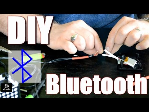 DIY Bluetooth Hack - Turn Anything With an Audio Input into a Bluetooth Speaker