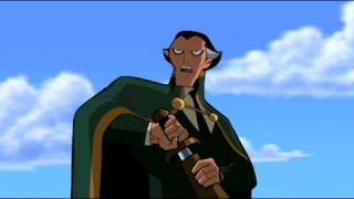 3 BATMAN: THE BRAVE & THE BOLD Sidekicks Assemble - Ras Al Ghul Fight Scene