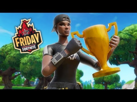I WON FRIDAY FORTNITE WITH CLIX ($10,000)