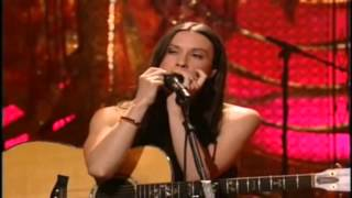 alanis morissette~acoustic head over feet (mtv unplugged)(hd)