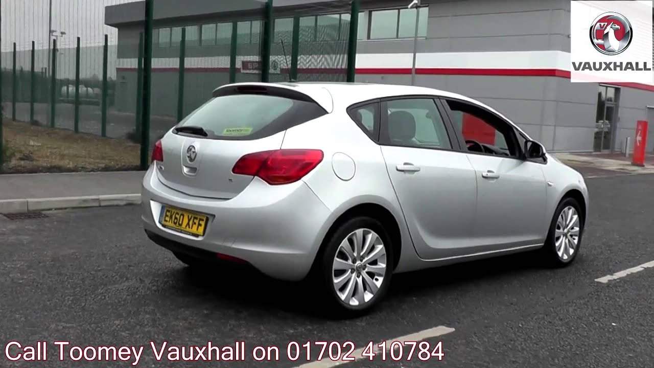 2010 vauxhall astra exclusiv sovereign silver ek60xff. Black Bedroom Furniture Sets. Home Design Ideas