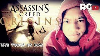 🔴🎮Assasins Creed Origins -#1 Quase No Fim.(Gameplay Ps4).