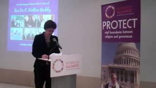 Honoring Rev. Dr. C. Welton Gaddy, Part VIII  -- Melissa Rogers