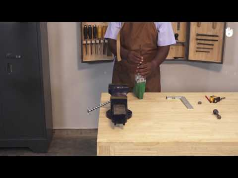 HOW TO FIX A VICE ON A WORKBENCH - Hindi