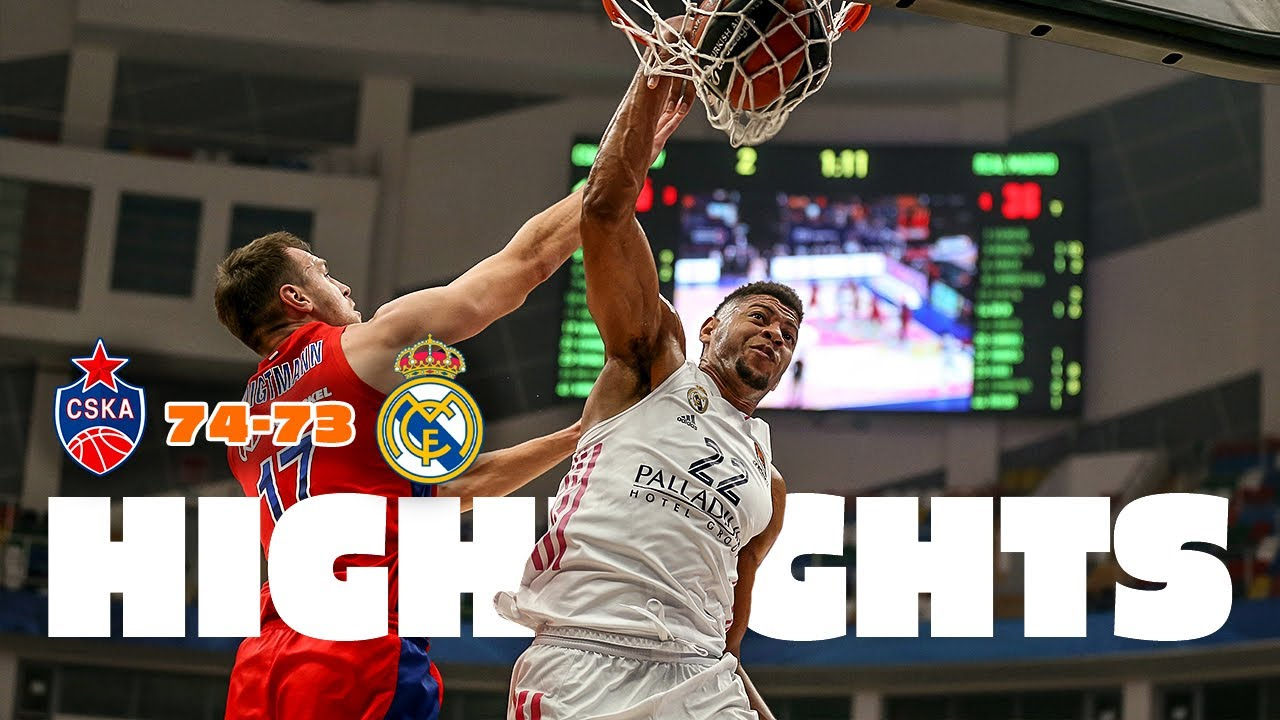 CSKA MOSCÚ 74-73 REAL MADRID | J11 Euroleague