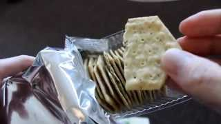 Review Mrs Crimbles Rosemary And Onion Cheese Savory Crackers Gluten Free