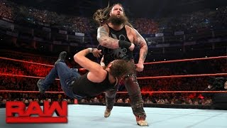 Dean Ambrose vs. Bray Wyatt: Raw, May 8, 2017