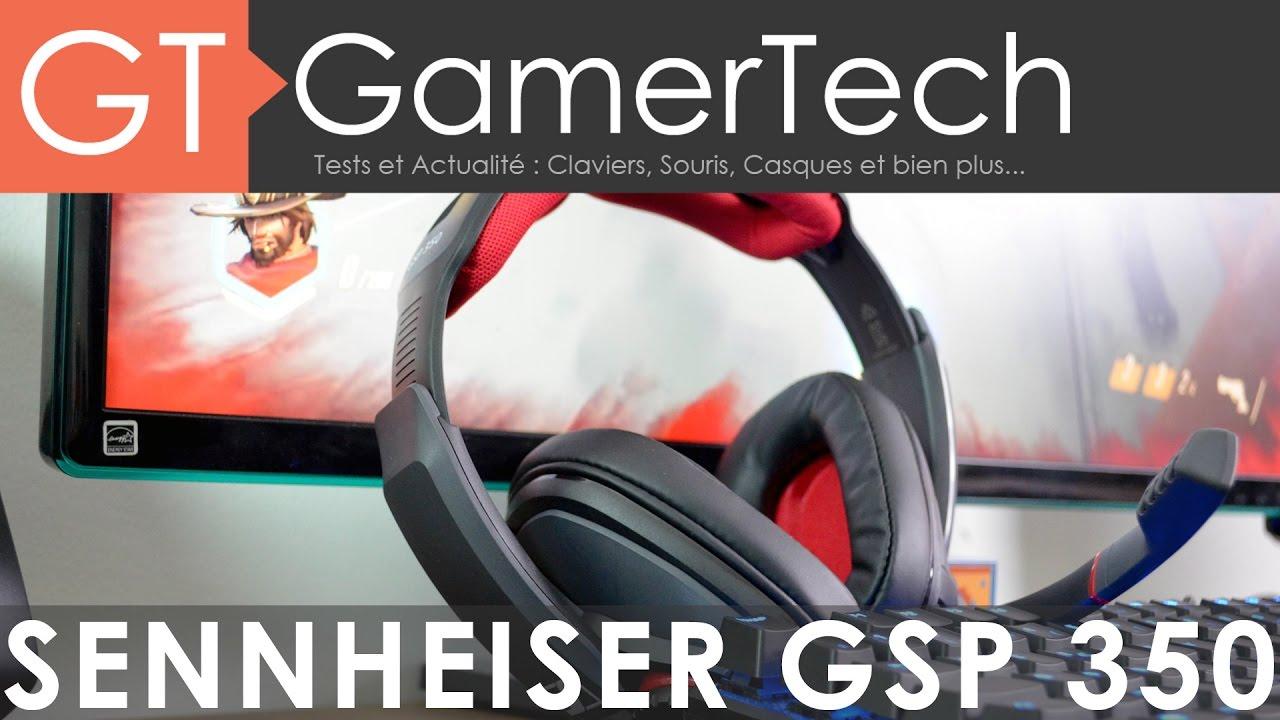 Sennheiser GSP 350   TEST   Un casque gaming 7 1 Dolby Surround
