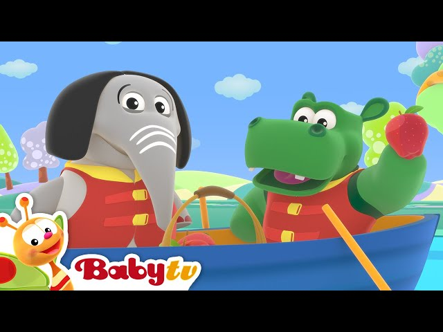 1, 2, 3, 4, 5, Once I Caught a Fish Alive 🐠 (Remastered) | Nursery Rhymes & Songs for Kids | BabyTV