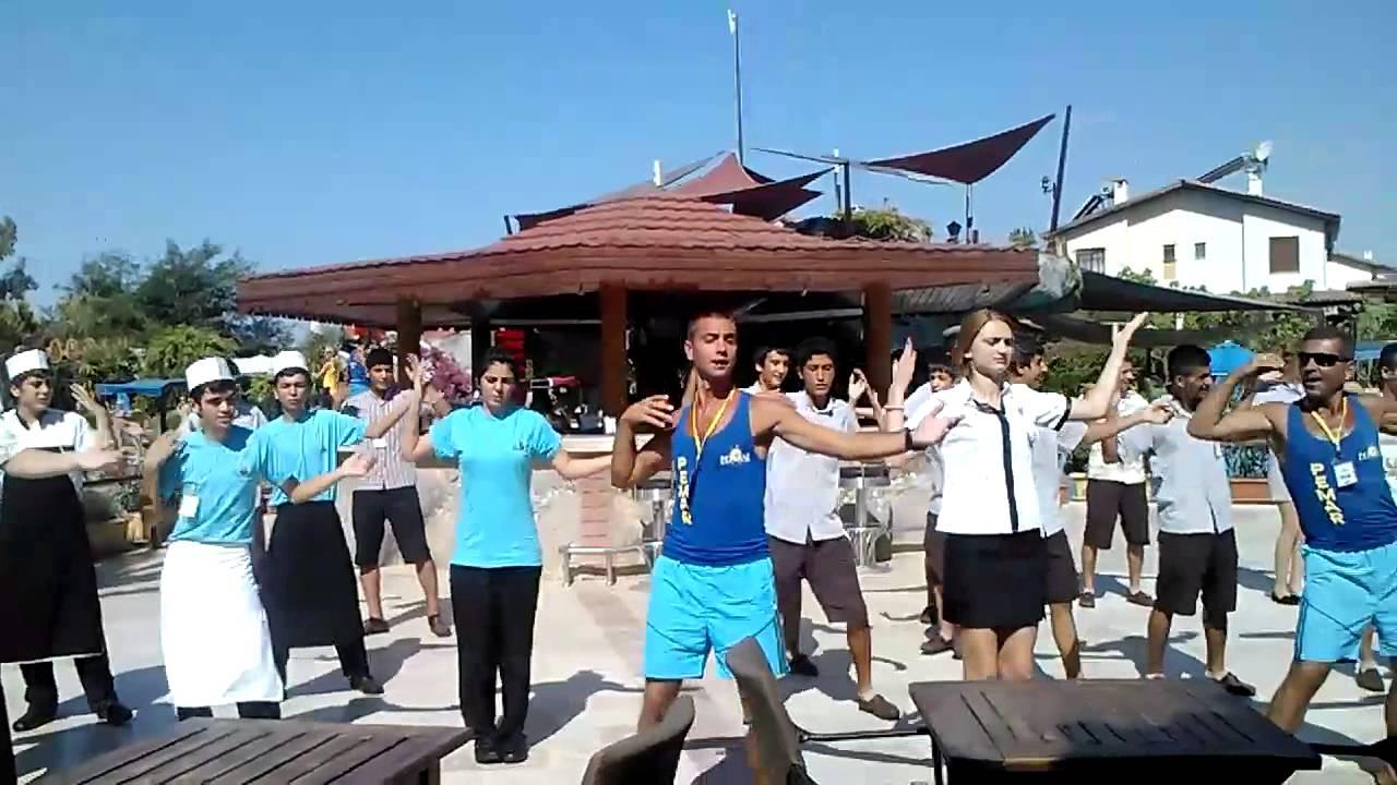 Gimn Otelya Pemar Beach Resort 5 Turciya Side Youtube