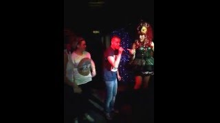Paul Rowe singing with drag queen Thumbnail
