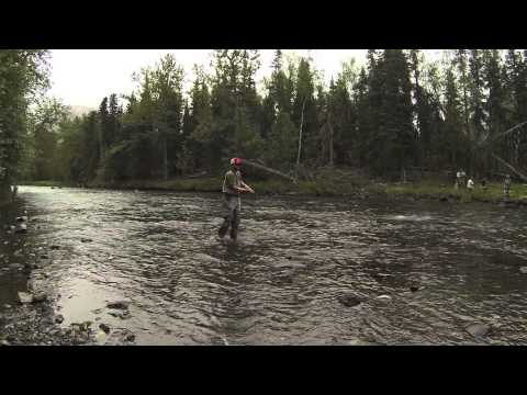 Fishing the Russian River Alaska