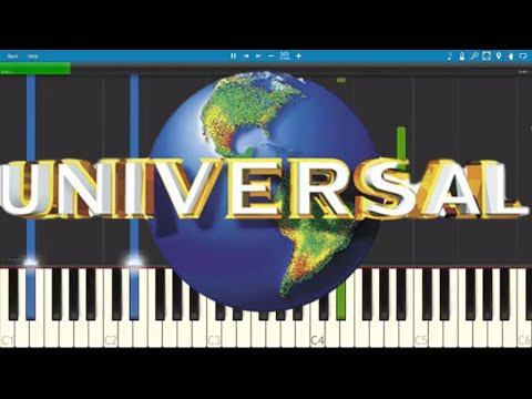 Universal Studios Theme - Piano Tutorial
