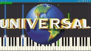 Universal Studios Theme - Piano Tutorial