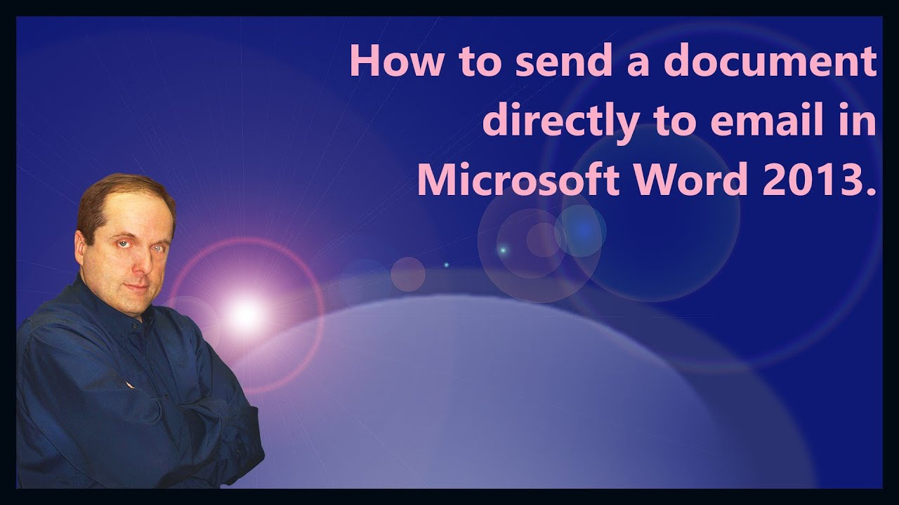 How to send a document by email 88