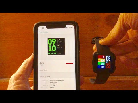 How to change the clock face display on a Fitbit versa - YouTube