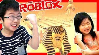 エジプトから 脱出🏃🏻♀️ オービー (アスレ) に挑戦だ! ゲーム 実況 ROBLOX Escape Egypt Obby! thumbnail
