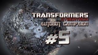 Transformers War for Cybertron Walkthrough - Autobot Campaign Part 5 - G1 Warpath