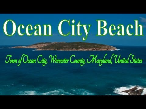 Visiting Ocean City Beach, Town of Ocean City, Worcester County, Maryland, United States