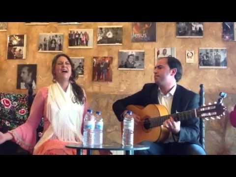 Joaquín Muñino y María José Chacón en Mesón Monsara