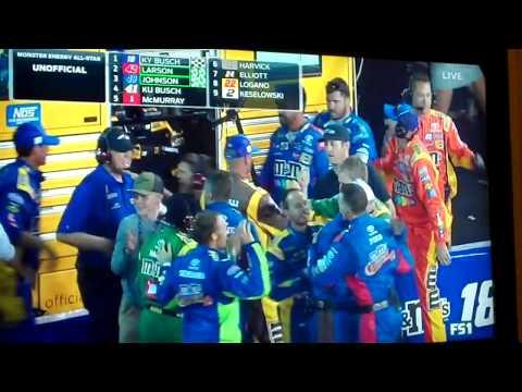 2017 NASCAR Charlotte All-Star Race Finish
