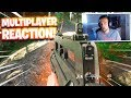 REACTING to MODERN WARFARE  MULTIPLAYER GAMEPLAY! (2V2 Gunfight Gamemode)